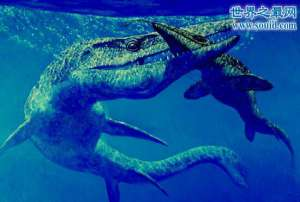 海王龙以恐龙为食,海洋中超恐怖无敌霸主