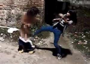 校园暴力事件:清远初中女遭暴力女扒衣裸体殴打拍裸照