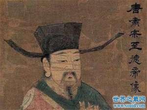 唐肃宗一生在平战乱中度过,没留下任何宏伟战绩