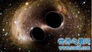 宇宙中最大的黑洞,OJ287是太阳的180亿倍