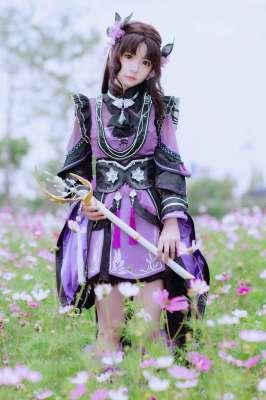 可爱动漫 剑网3 万花 烟云花萝 【您的好友魔仙花已上线】